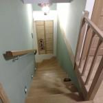 Rambarde et habillage cage d'escalier
